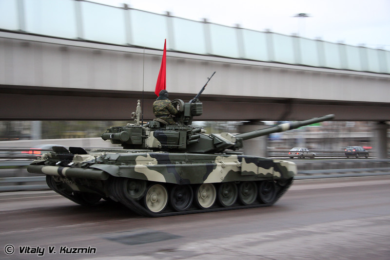 Танк Т-90А (T-90A main battle tank)