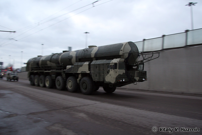 БМС 15Т382 агрегат сопровождения колонны технического замыкания ПГРК Тополь (BMS 15T382 supply vehicle for Topol ICBM)