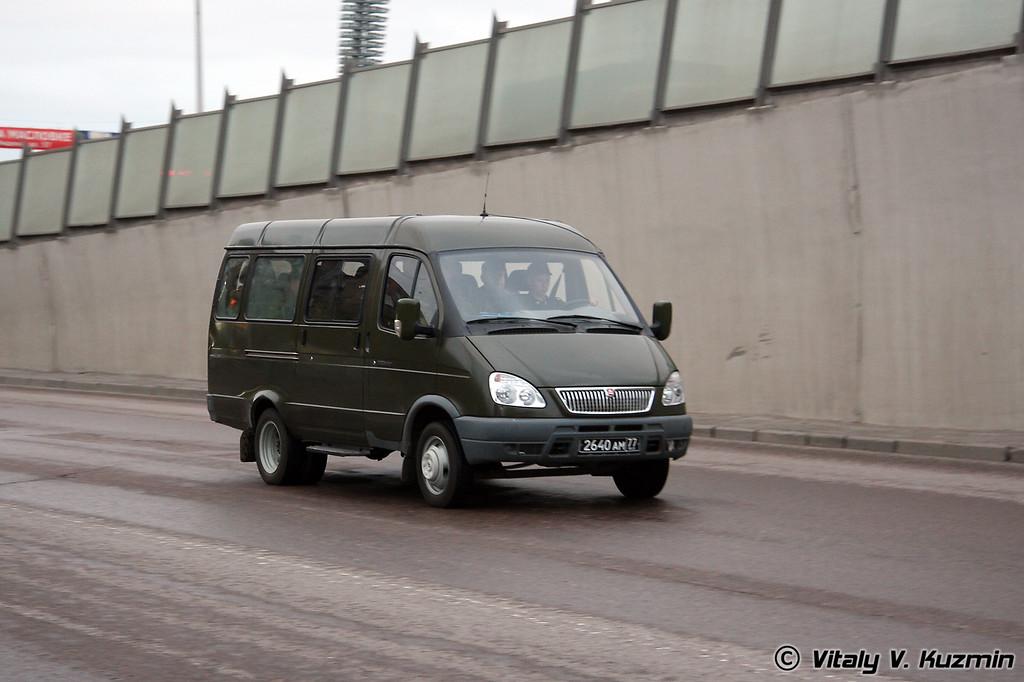 ГАЗ 32213 (GAZ 32213)