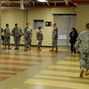The 4220th U.S. Army Hospital (USAH) formation on January 13, 2013.<br /> (U.S. Air Army Photo/2LT Marcus Calliste/Released)