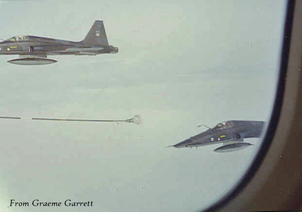 Fighters Refueling