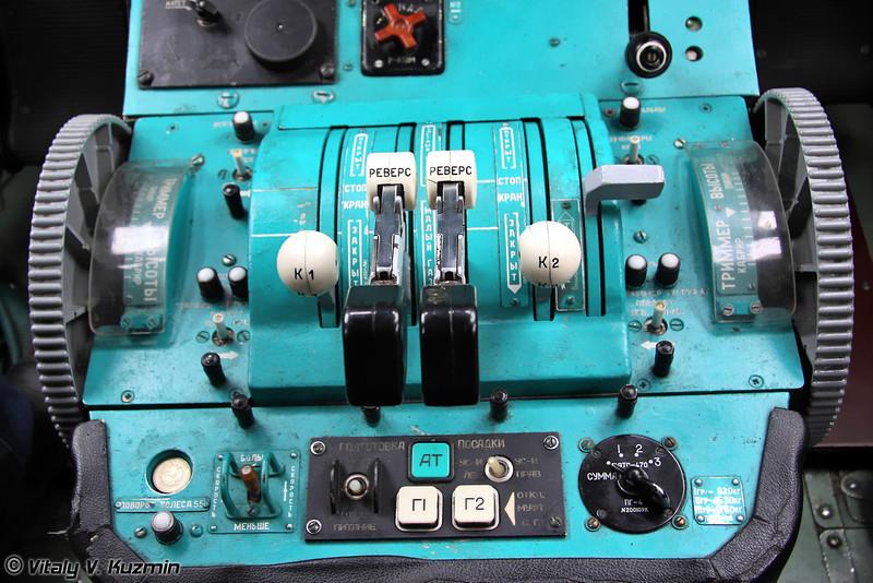 Кабина пилотов Ту-134УБЛ (Pilots cockpit of Tu-134UBL)