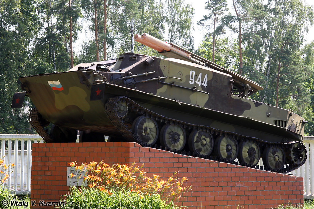 Установка разминирования УР-67 (Mine-clearing vehicle UR-67)
