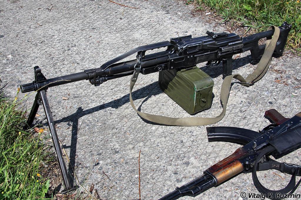 Ручной пулемет ПКП Печенег (PKP Pecheneg)
