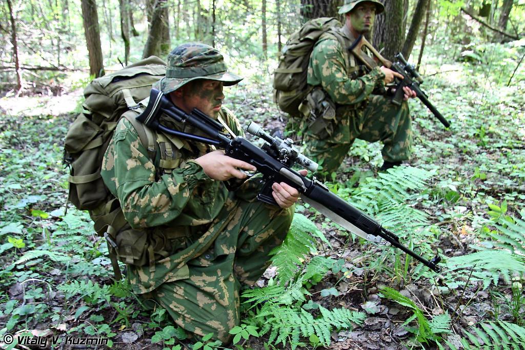 Действия разведгруппы 45-го отдельного гвардейского полка специального назначения (Reconnaissance group of 45th Separate Guards Special Purpose Regiment)