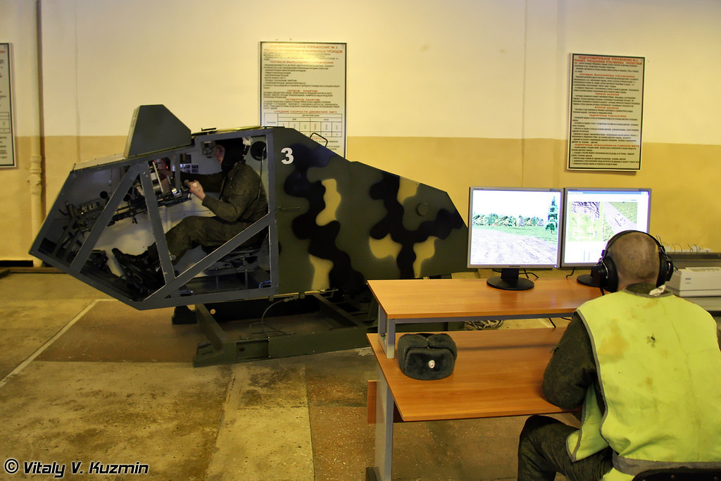 Тренажер техники вождения БМП-2 (BMP-2 training simulator)