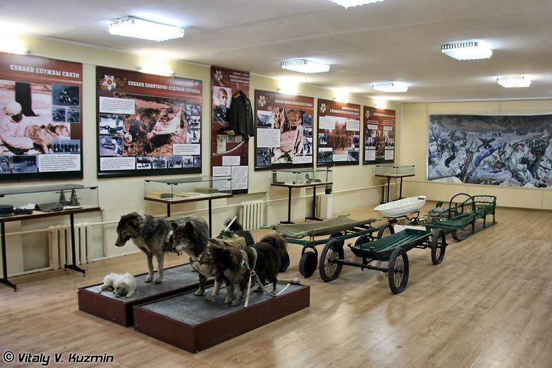 В Центре функционирует довольно хороший музей подразделения. (The museum of 470th Centre)