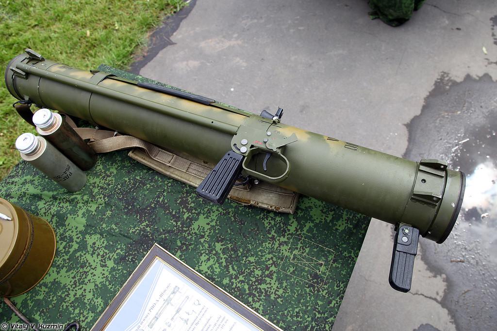 Реактивный пехотный огнемет РПО-А Шмель (RPO-A Shmel)