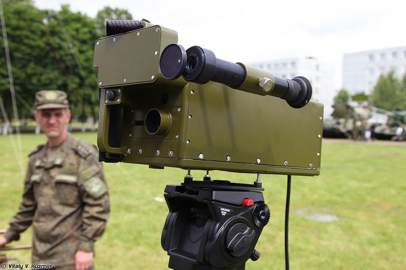 Прибор химической разведки дистанционного действия ПХРДД-3 (PKhRDD-3 chemical reconnaissance device)