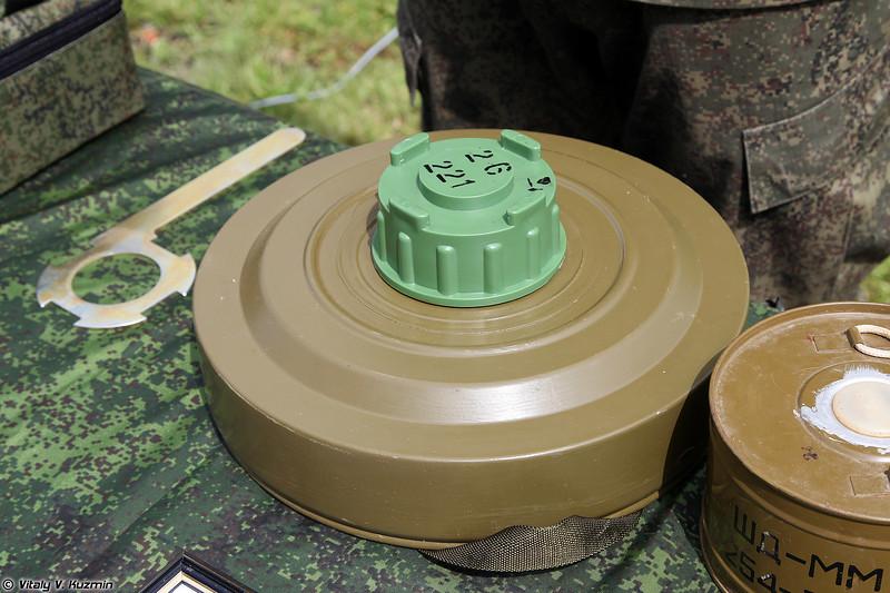 Унифицированная дымовая шашка УДШ (UDSh smoke mine)