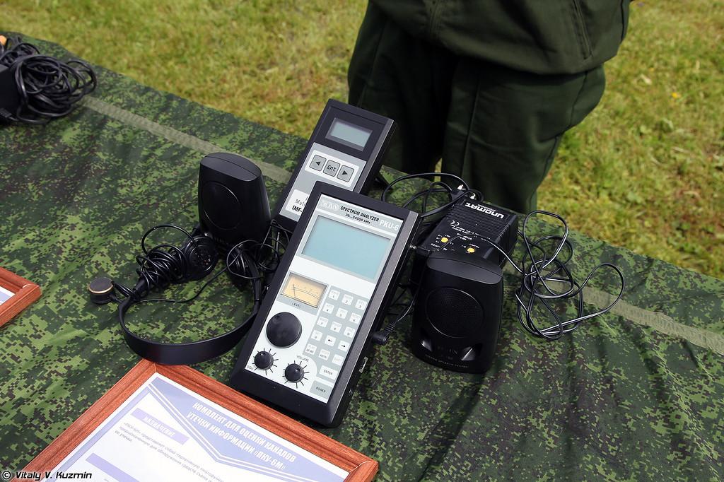 Комплект для оценки каналов утечки информации ПКУ-6М (PKU-6M spectrum analyzer)
