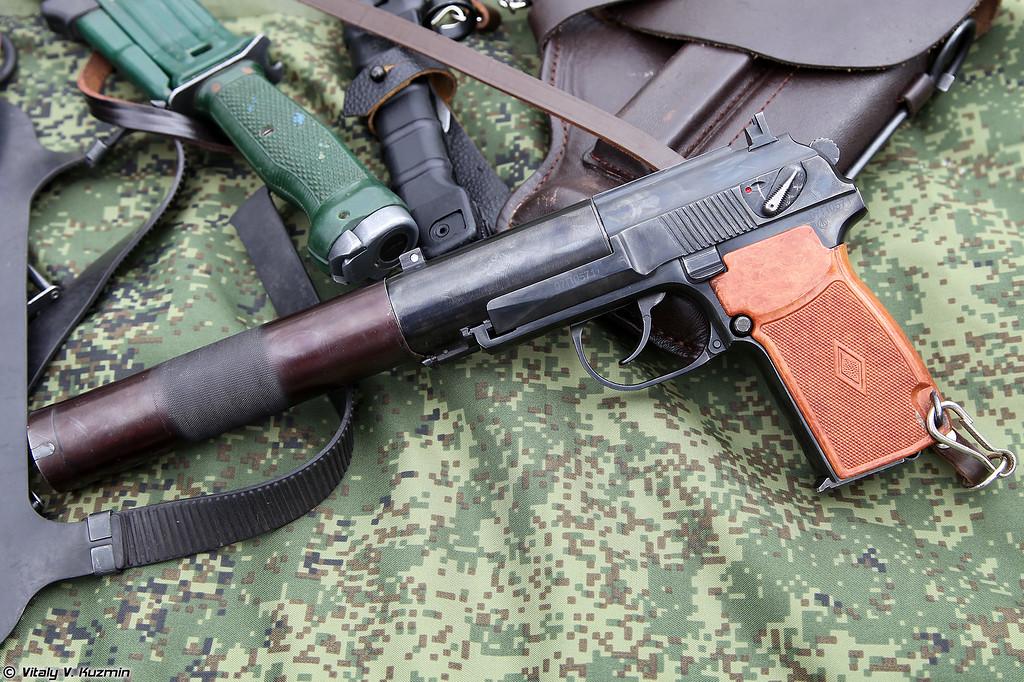 Пистолет бесшумный ПБ 6П9 (PB 6P9 silent pistol)