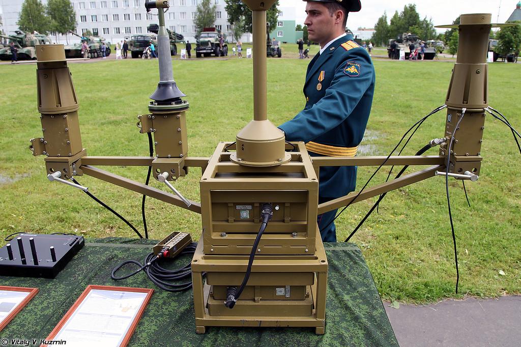 Малогабаритный передатчик помех РП-377УВМ1Л (RP-377UVM1L jammer)