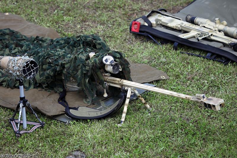 Модернизированная крупнокалиберная снайперская винтовка АСВК Корд-М 6В7М (12.7mm modernized sniper rifle ASVK Kord-M 6V7M)