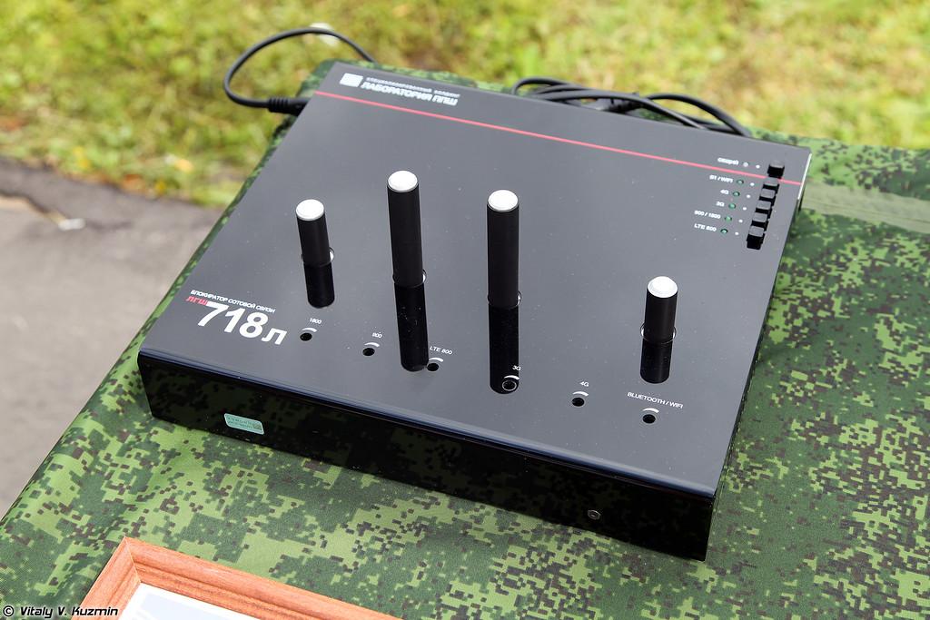 Блокиратор сотовой связи ЛГШ-718Л (LGSh-718L jammer)