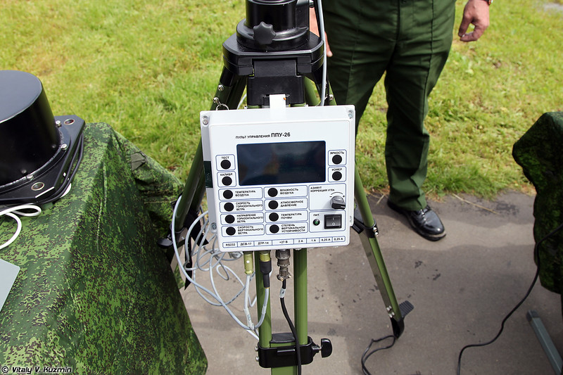 Комплект метеорологический АМК-П (AMK-P meteorology portable device)