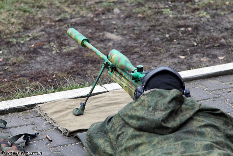 Вторая винтовка Sako TRG-42 .338 LM (The seond rifle is Sako TRG-42 .338 LM)