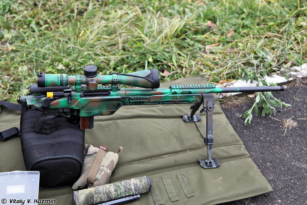 Одна из винтовок победившей пары STEYR SSG 08 .300 Win.Mag. (Ine of the rifles of the winners STEYR SSG 08 .300 Win. Mag.)