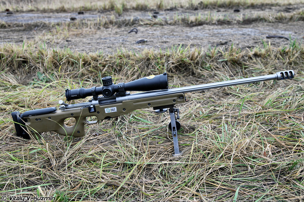 ORSIS SE в ложе Accuracy International AW (ORSIS SE bolt and barrel in AW stock)