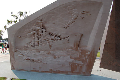 Relief of the USS San Diego, CL-53
