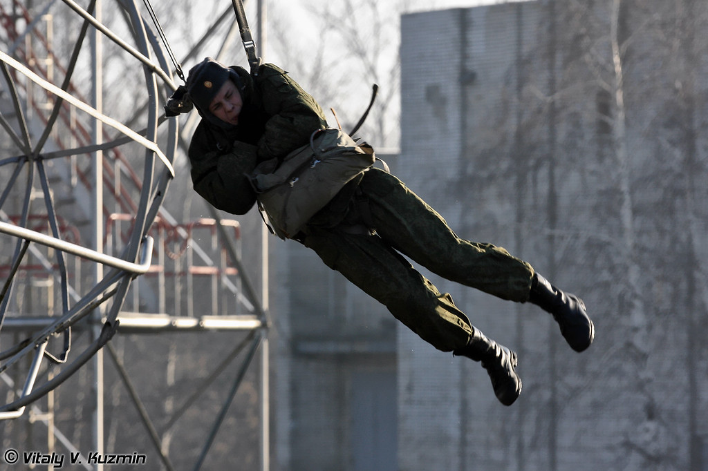 Воздушно-десантный комплекс для проведения занятий по воздушно-десантной подготовке на различных тренажерах (Airborne training elements)