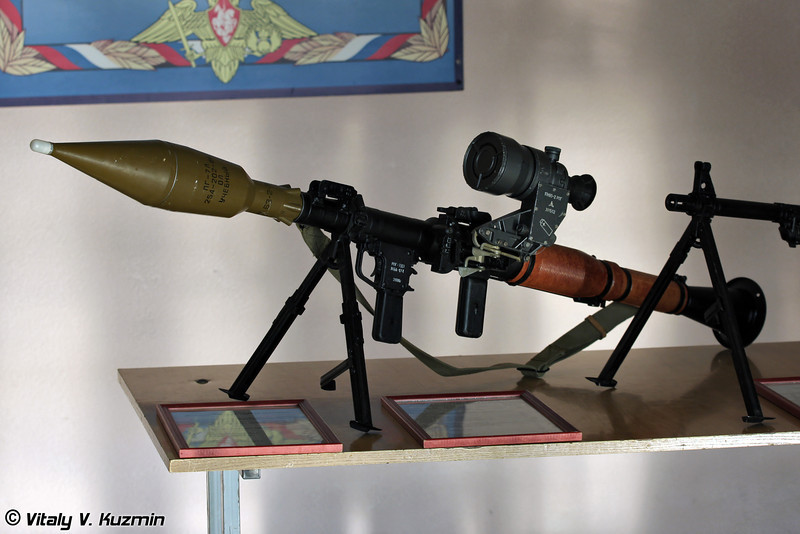 РПГ-7Д3 десантный вариант РПГ-7В2 (RPG-7D3 is the airborne variant of RPG-7V2)