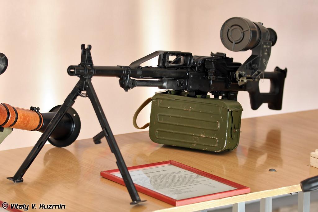 Ручной пулемет ПКП Печенег. (PKP Pecheneg machine gun)