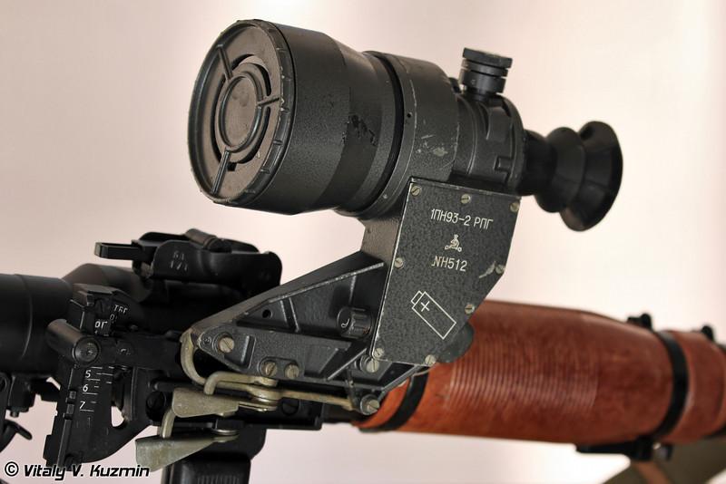 Прицел унифицированный ночной 1ПН93-2 для РПГ (Night sight 1PN93-2 for RPG)