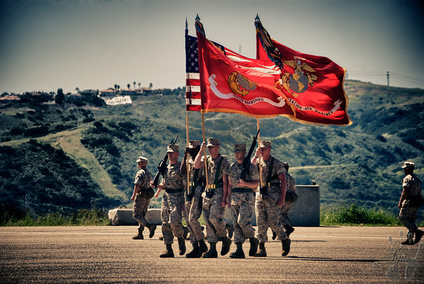 Fifth Marines Change of Command