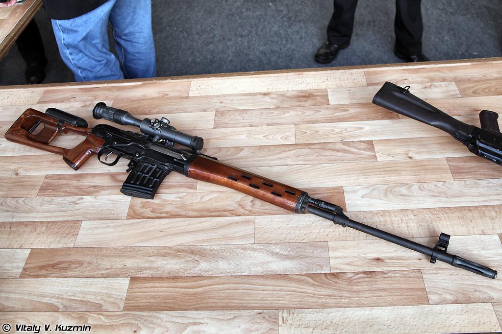 7,62-мм снайперская винтовка Драгунова СВД (SVD sniper rifle)