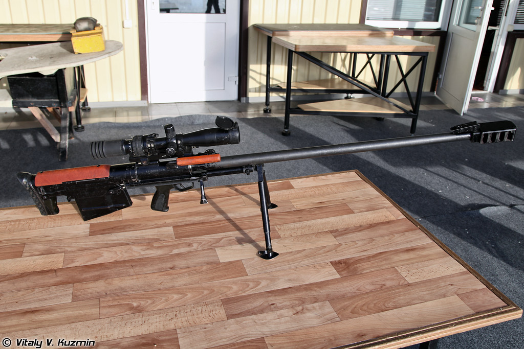 12,7-мм крупнокалиберная снайперская винтовка 6В7 КСВК/АСВК (6V7 KSVK/ASVK sniper rifle)