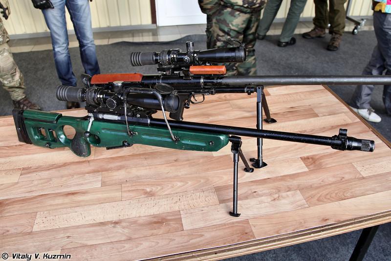 7,62-мм снайперская винтовка СВ-98 (SV-98 sniper rifle)