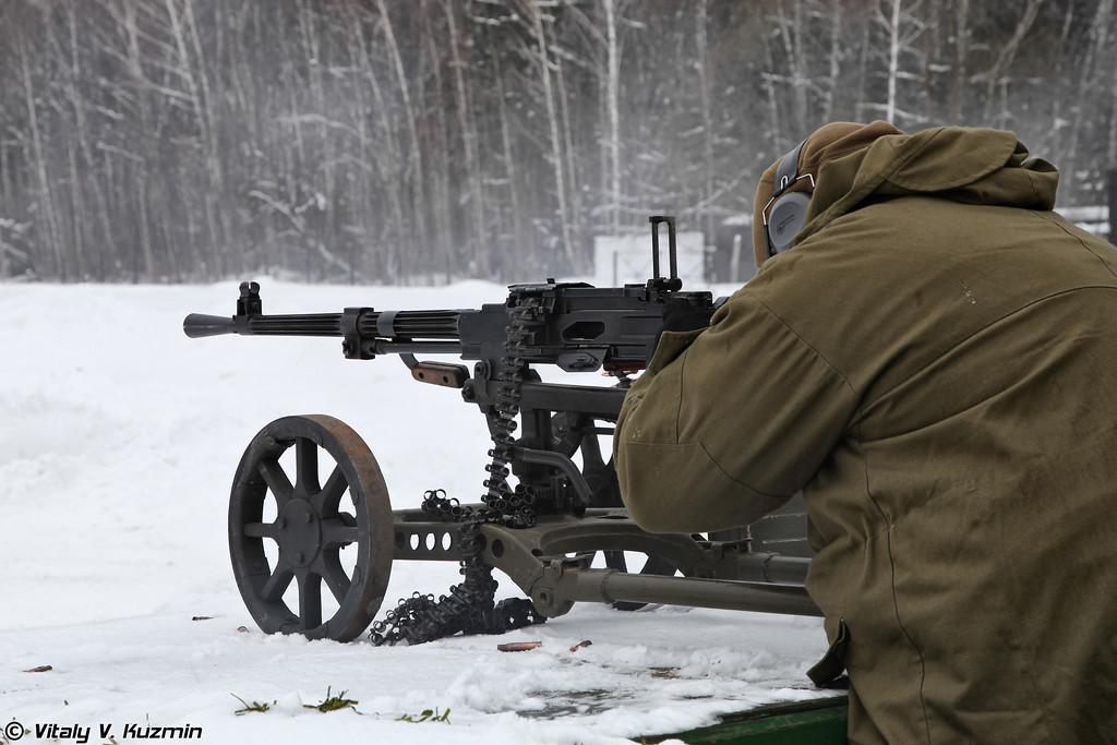 7,62-мм станковый пулемет Горюнова СГМ (SGM Goryunov machine gun)