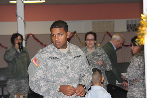 United States Army Reserve 7214th  Medical Unit Christmas Party