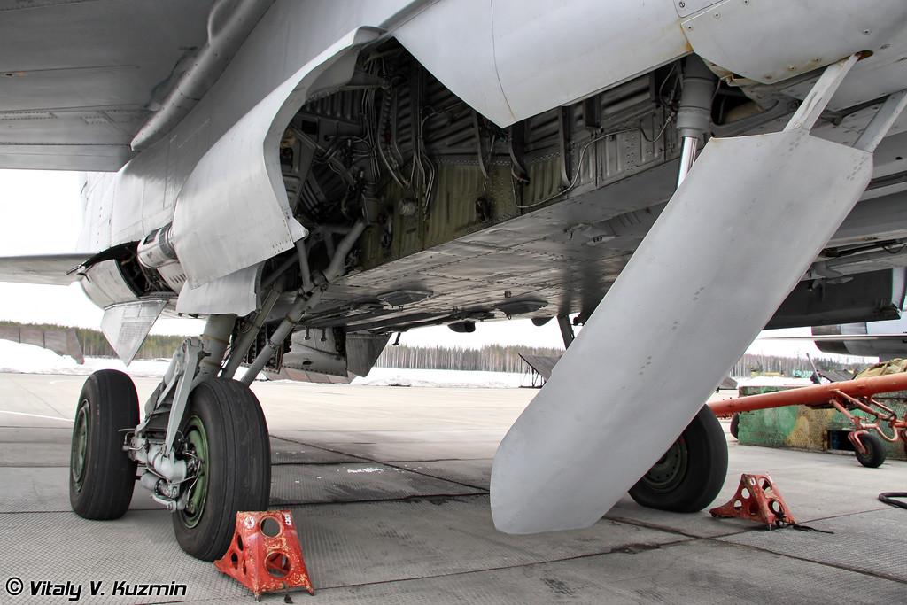 Основные опоры шасси МиГ-31 (MiG-31 main gears)