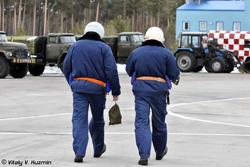 Пилоты МиГ-31 (MiG-31 pilots)