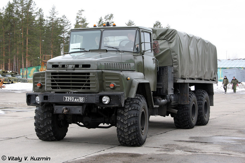 КрАЗ-260 (KrAZ-260)