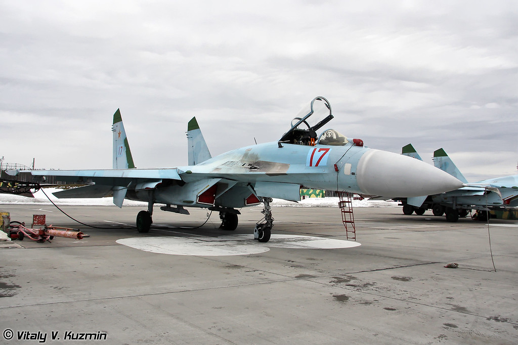 Су-27 бортовой номер 17 Красный (Su-27 17 Red)