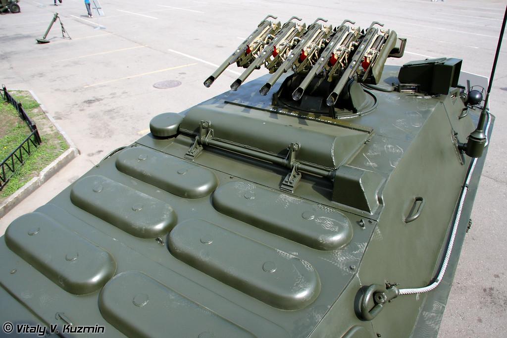 Боевая машина 9П148 ПТРК Конкурс на шасси БРДМ-2 (9P148 Konkurs on BRDM-2 chassis)