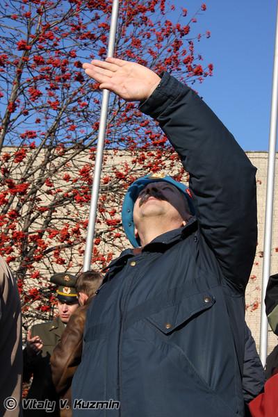 90-летие Рязанского высшего воздушно-десантного командного училища имени генерала армии В.Ф. Маргелова (90th anniversary of the foundation of Ryazan High Airborne Military School)