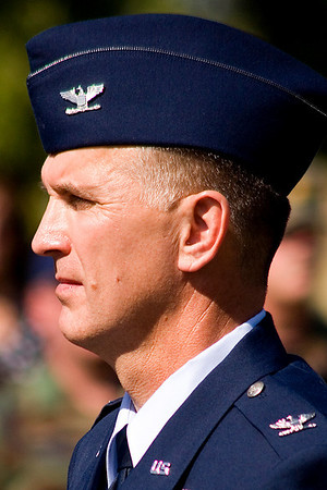 913th Airlift Wing Commander Colonel Jody McMullen
