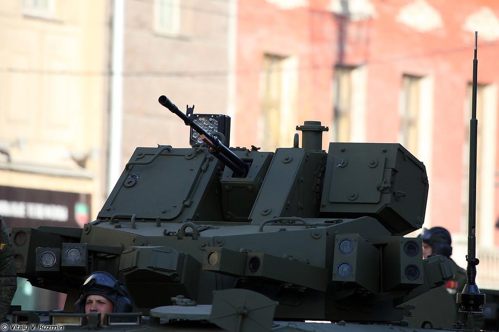 Бронетранспортер объект 693 на средней гусеничной унифицированной платформе Курганец-25 (Armoured personnel carrier object 693 on medium unified tracked platform Kurganets-25)