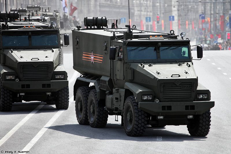 Бронеавтомобиль повышенной защищенности Тайфун-У (Typhoon-U MRAP vehicle)