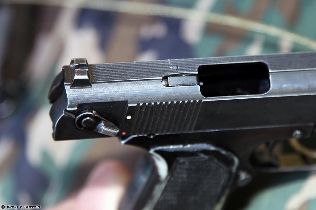9х19 пистолет ОЦ-27-2 Бердыш (9x19 OTs-27-2 Berdysh pistol)