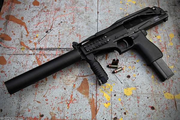 9x21 SR-2MP submachine gun