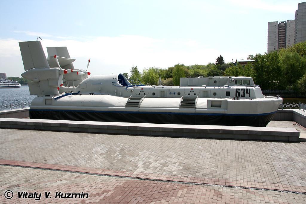 Десантный катер Д-357 на воздушной подушке типа  Скат проект 1205 (D-357 ACV project 1205)