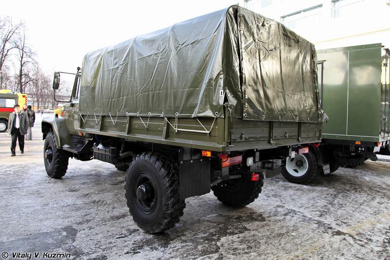 Автомобиль бортовой ГАЗ-33088 Садко (GAZ-33088 Sadko truck)