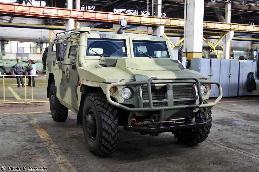 Автомобиль многоцелевого назначения ГАЗ-233114 Тигр-М (GAZ-233114 Tigr-M)