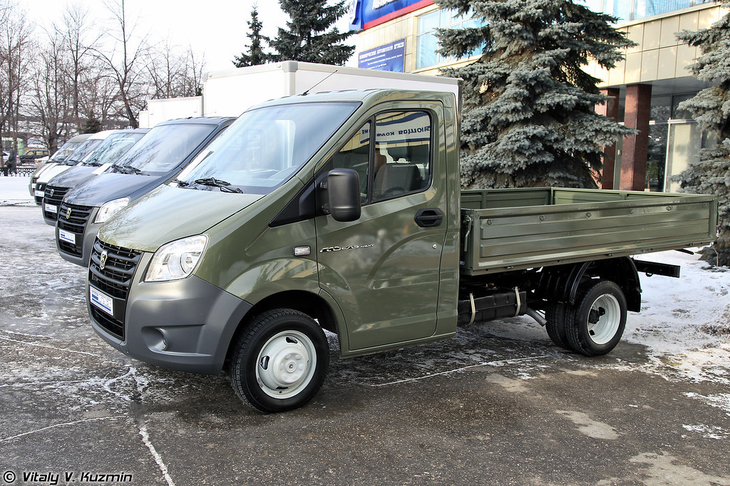 Бортовой автомобиль ГАЗ-А21R32 ГАЗель NEXT (GAZ-A21R32 GAZel NEXT)