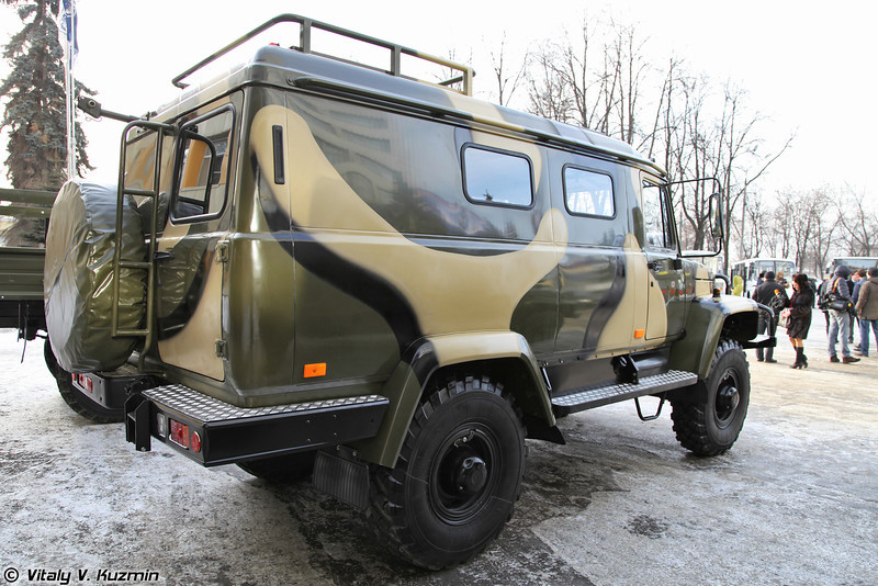 ГАЗ-330811 Вепрь (GAZ-330811 Vepr)
